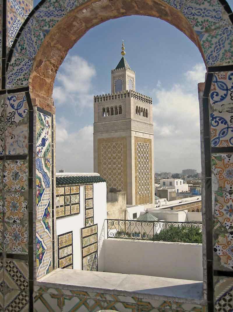 La Grande Mosquée de Tunis