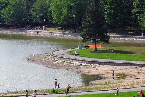 Le Parc Mont Royal à Montréal