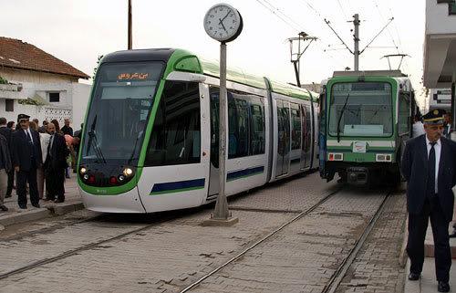 Les moyens de transports à Tunis