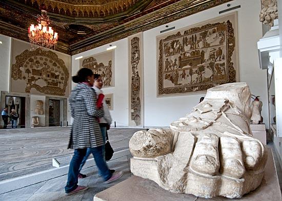 Le musée de Bardo Tunis