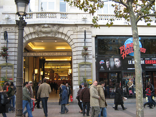 Parcours shopping à Paris