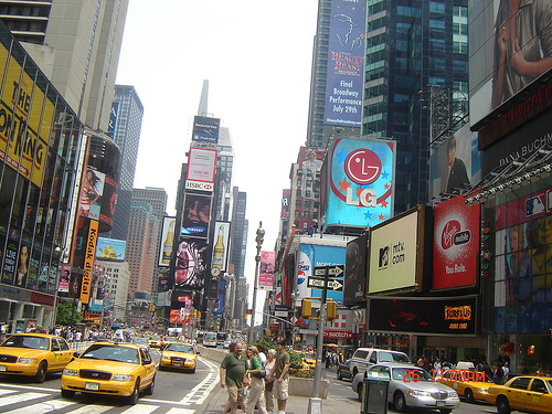 Transport à New York