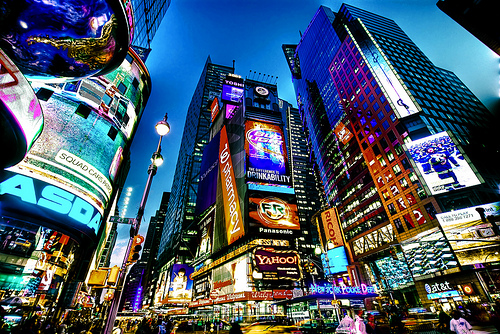 Visiter Time Square à New York