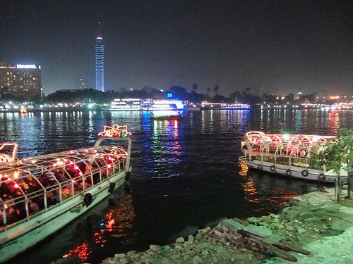 Voyage en Égypte, visite du Caire