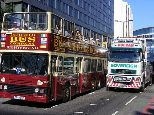 Visiter Londres sur le toit d'un des légendaires bus rouges
