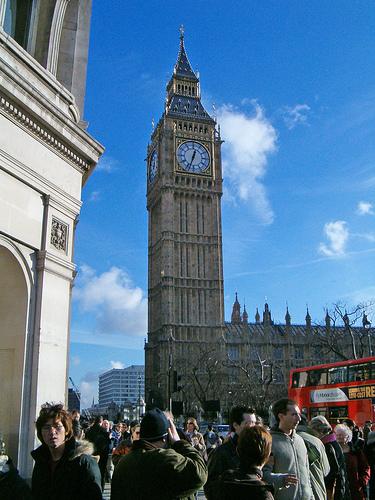 Visiter le Palais de Westminster à Londres