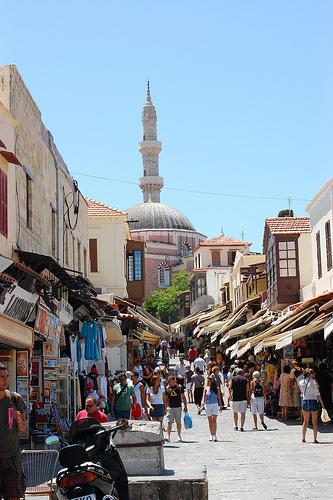 Visiter l'île de Rhodes en Grèce