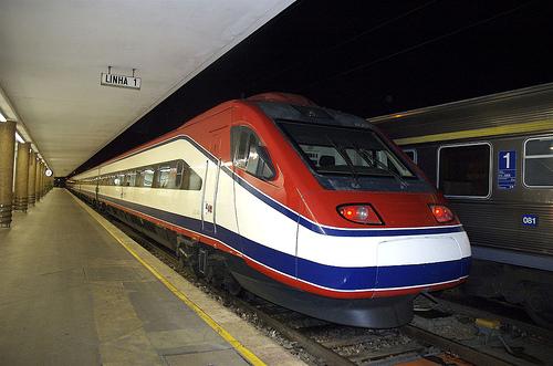 Train Lisbonne-Porto