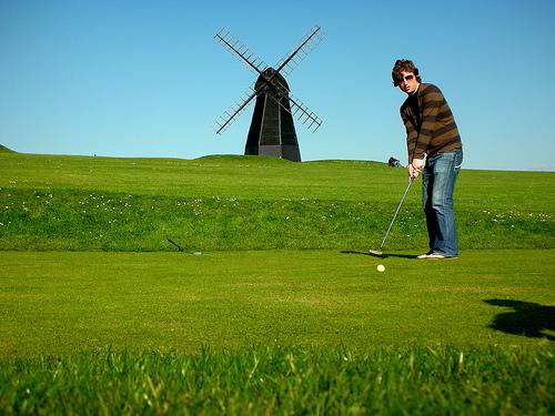 Faire du golf en Andorre