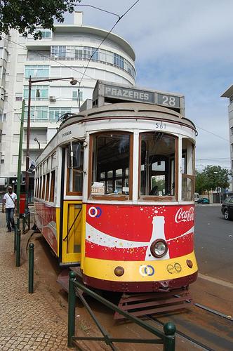 Balades en Tramway à Lisbonne