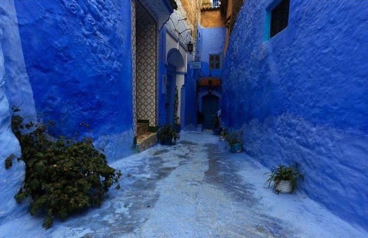 Chefchaouen, la petite ville bleu au Maroc