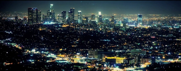 Los Angeles capturée la nuit !