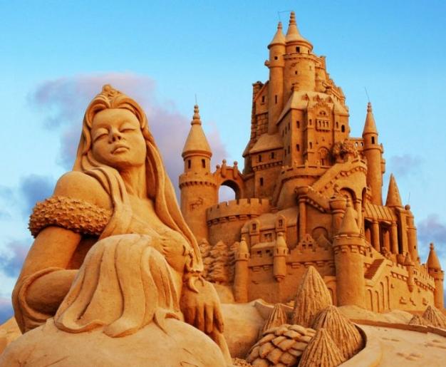 Top 10 des plus belles sculptures de sable