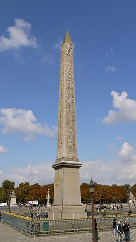 L'obélisque de Louxor à Paris : histoire et origine