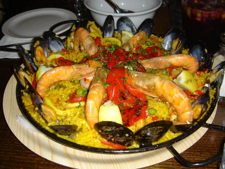 Les plats espagnols typiques