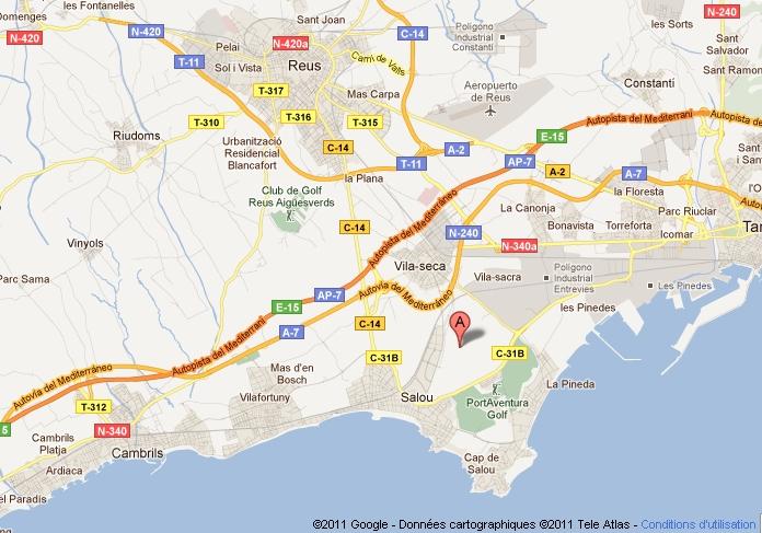 Comment se rendre de Barcelone à PortAventura ?