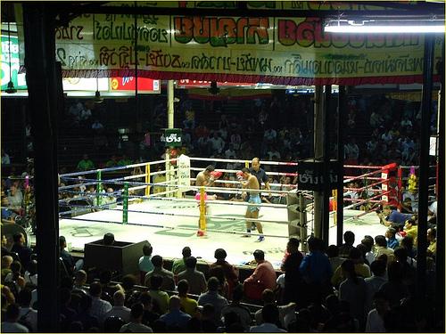 Assister à un match de boxe thaï à Bangkok