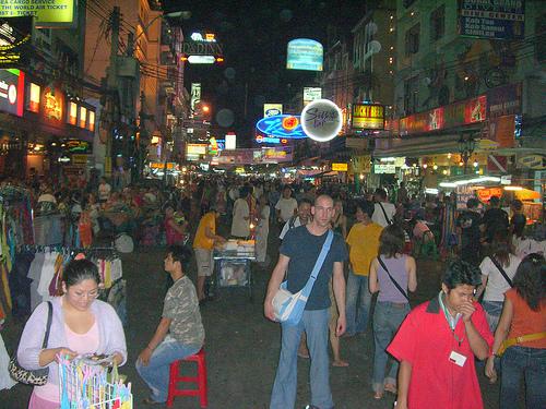 quartier Kho San Road bangkok