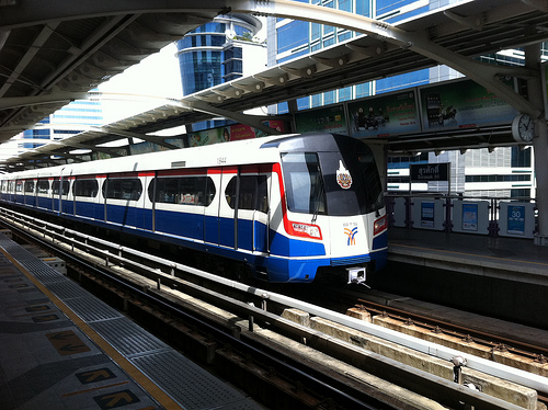 Transports à Bangkok : bus et métro
