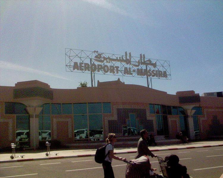 L'aéroport Agadir – Al Massira