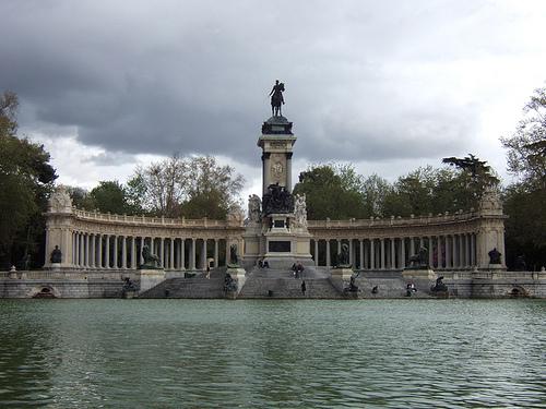 parc Retiro madrid