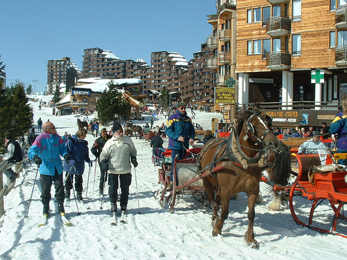 ski portes du portes du soeil