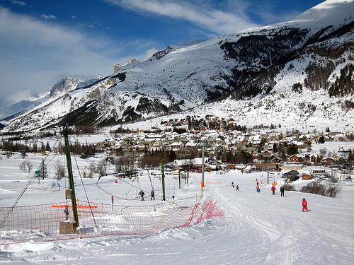 station de ski pour debutant alpes