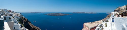Comment se rendre d'Athènes à Santorin ?