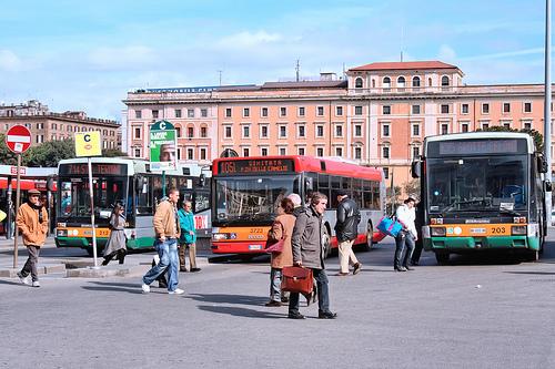 Transport aéroports de Rome-centre ville