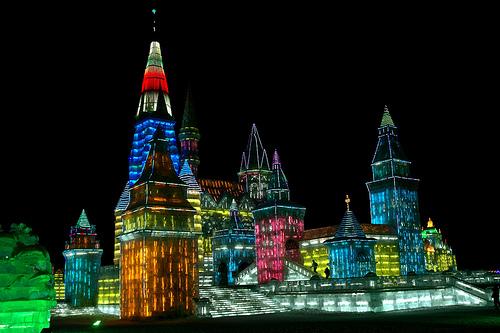 ville de glace chine
