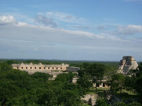 Carte de l'état du Yucatan au Mexique