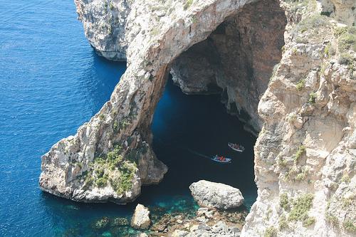 grotte bleue malte photo