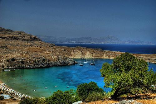 lindos grece