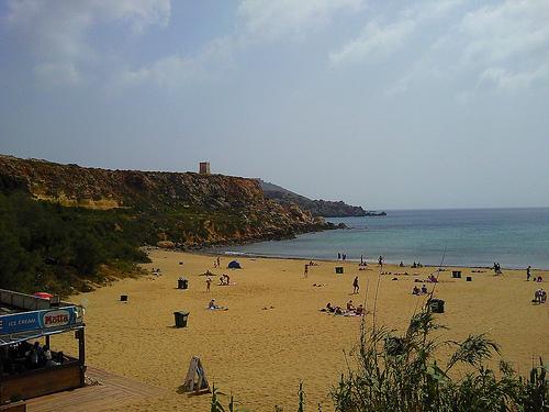 belle plage malte