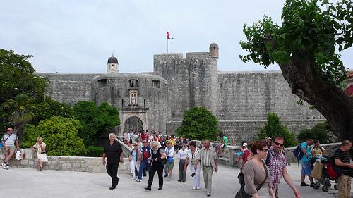 visite vieille ville dubrovnik croatie