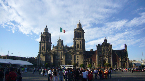 Metropolitan Cathedral, Mexico. Flickr par Kent Wang