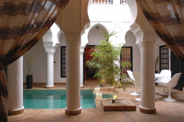 riad avec piscine pas cher marrakech