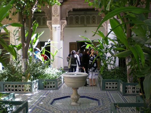 Le Palais de la Bahia à Marrakech en photos