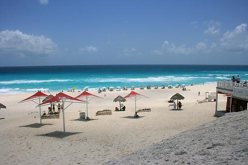 Cancún côté plages