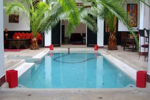 riad marrakech pas cher avec piscine