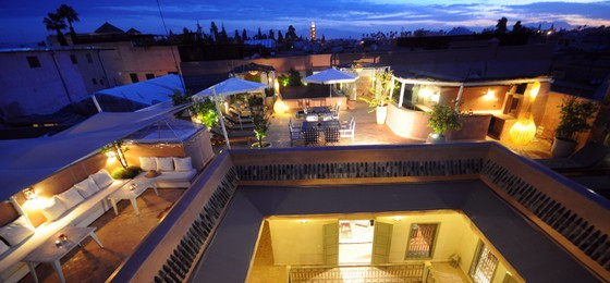 riad pas cher avec piscine marrakech
