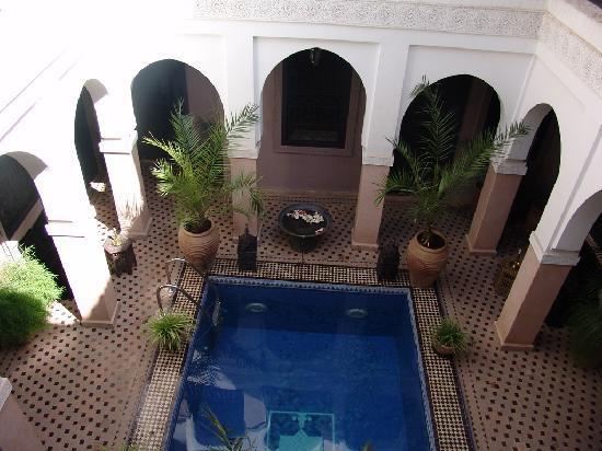 ria avec piscine marrakech