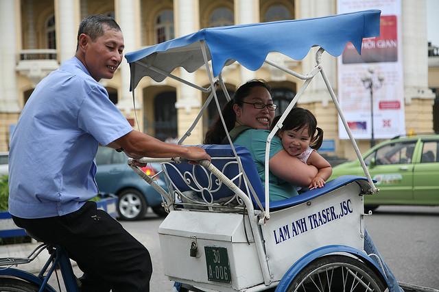 moyens de transport hanoi vietnam