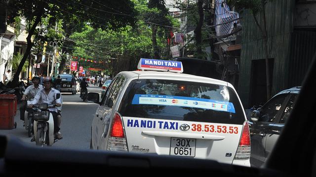 moyens transports hanoi