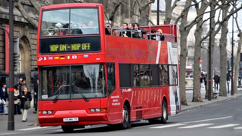 Visiter Paris en Bus panoramique